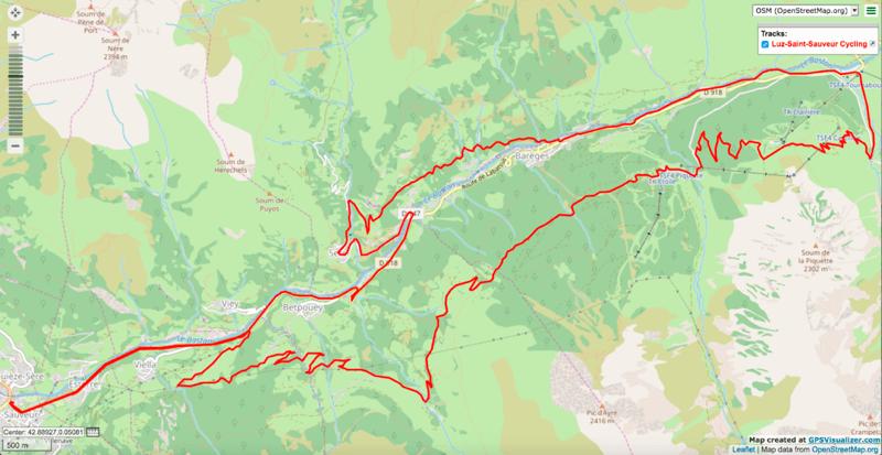 Luz - Plateau de Lienz loop Itinéraires de vélo électrique