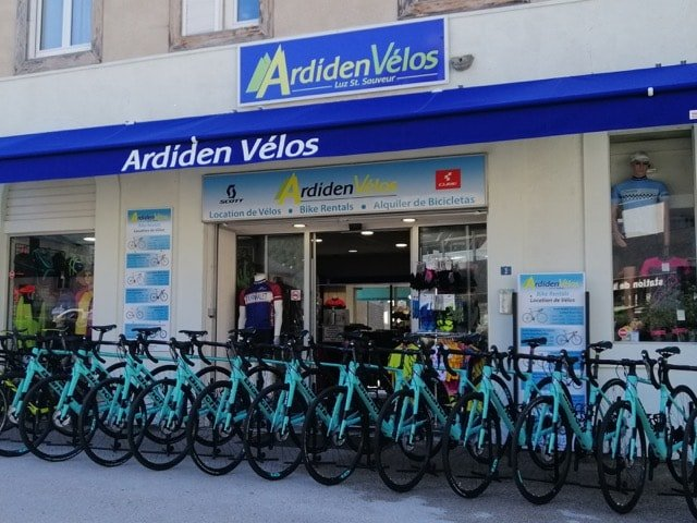 Ardiden Velos magazin, location de vélos Luz-Saint-Sauveur